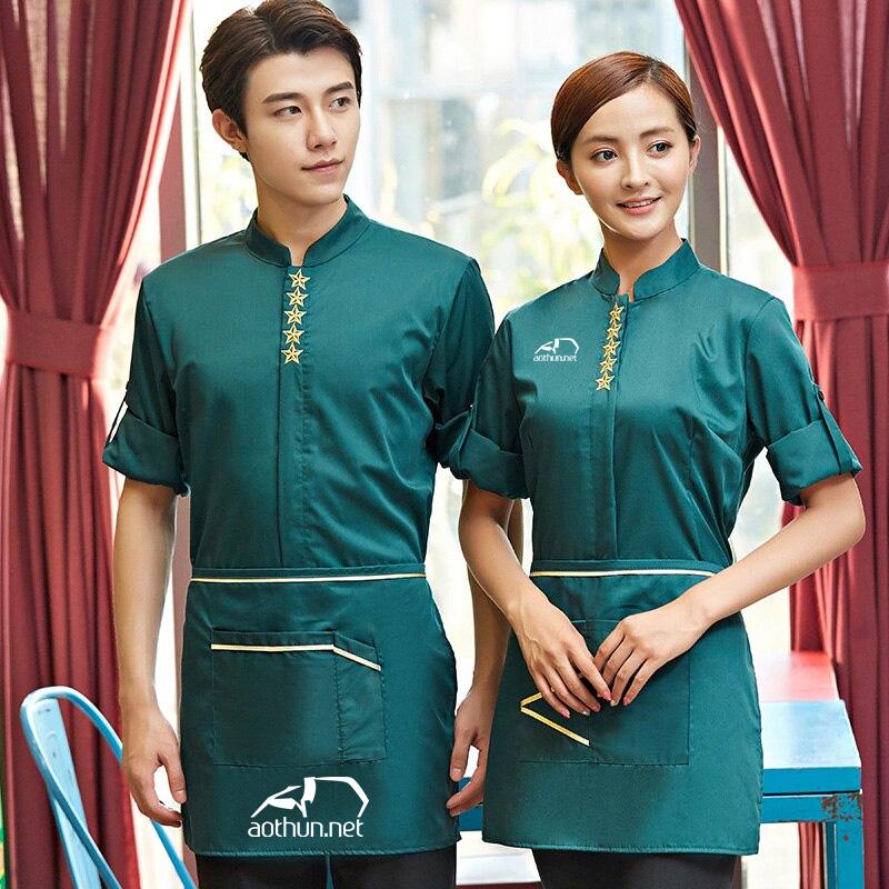 Đồng phục nhà hàng khách sạn chuyên nghiệp tạo điểm nhấn với khách hàng