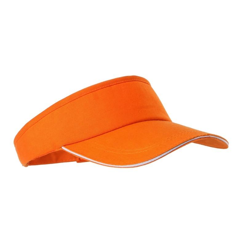 Mũ tennis màu cam