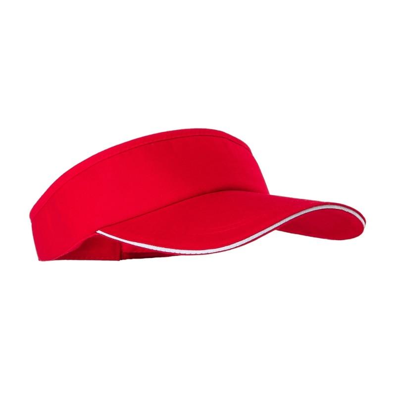 Mũ tennis màu đỏ
