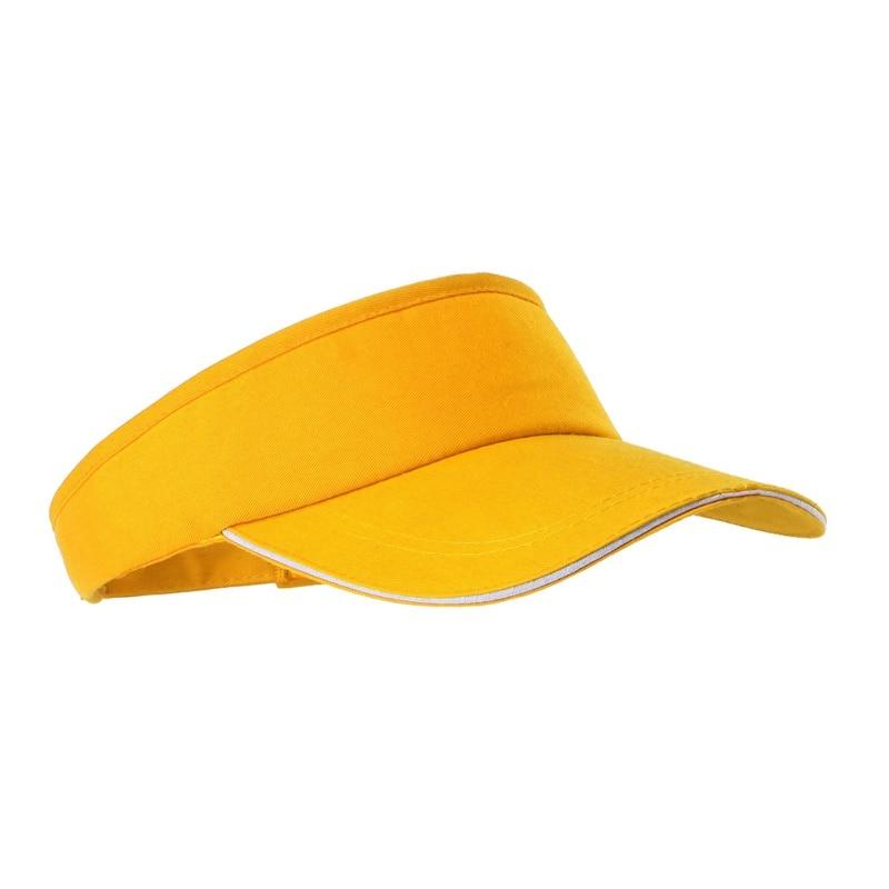 Mũ tennis màu vàng