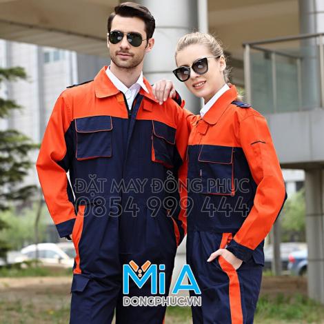 Đồng phục bảo hộ lao động dành cho thợ máy