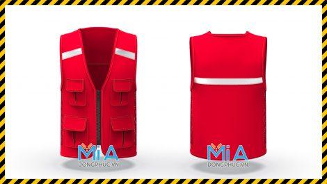 Áo ghi lê bảo hộ dành cho giám sát công trình