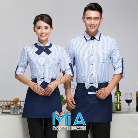 Mẫu thực tế đồng phục nhà hàng